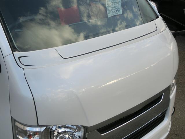 トヨタ ハイエースバン ロングスーパーGL 3LD-T4WD パールホワイトパワスラ