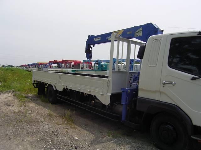 三菱ふそう ファイター 1.9t 4段 超ロング クレーン付
