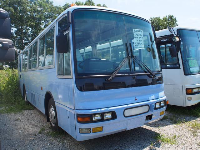 三菱ふそう 三菱ふそう エアロミディ 自動扉 リアヒーター ガイド席有 47人乗バス