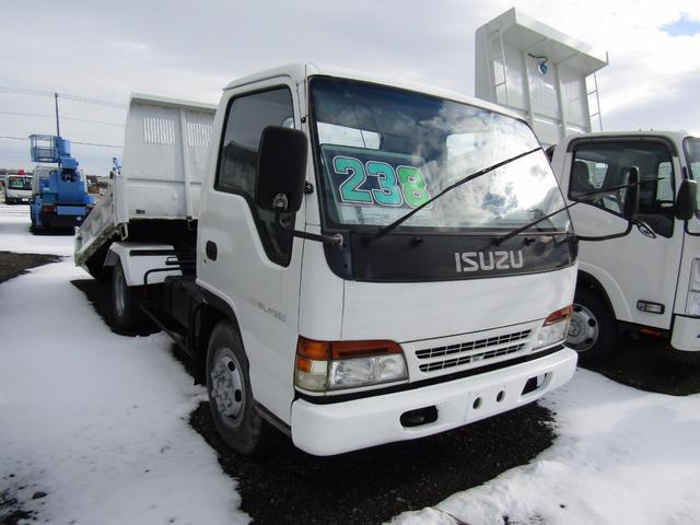 いすゞ エルフトラック 3.5t積 スライドダンプ 6MT フル装備