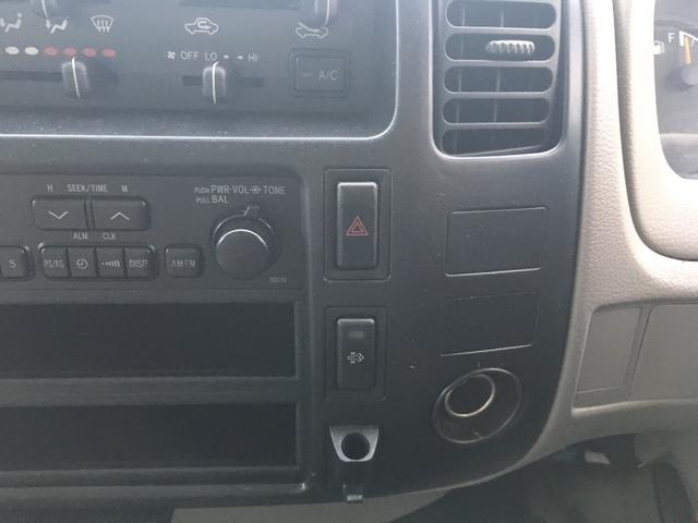 トヨタ トヨエース エアコン パワーウィンドウ エアバック ETC ラジオ