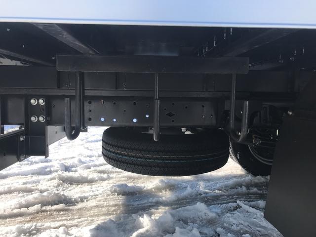 2tワイドロングパネルバンターボ4WD ラッシングレール2段(13枚目)
