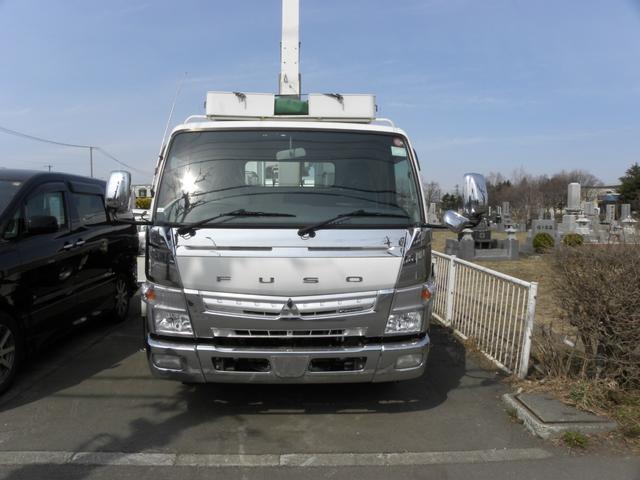 タダノ6段クレーン車ラジコン付 ゴンドラ 新品冬タイヤ(2枚目)