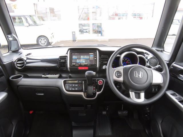 ホンダ N BOXカスタム G・Lパッケージ 4WD 両側電動スライドドア HDDナビ