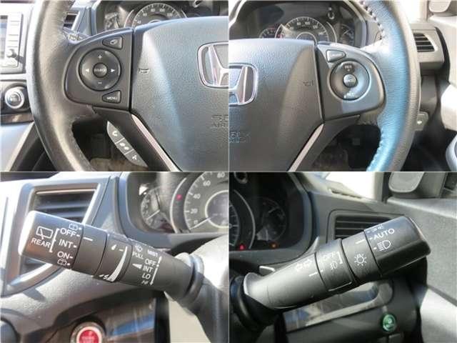 ■クルーズコントロールスイッチ■アクセルペダルを使わずに速度を維持でき、手元のスイッチで加速、減速もできます♪