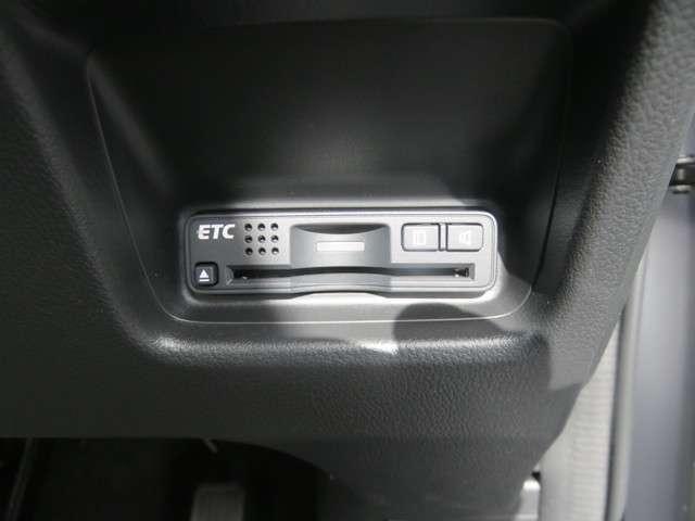 ETC装備です!高速道路の料金所をスムーズに通過でき快適ですね♪
