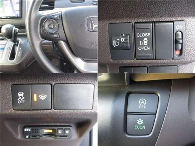 G 4WD 社外メモリーナビ 片側電動ドア 横滑防止(4枚目)