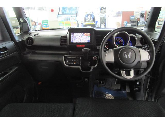 ホンダ N BOXカスタム G 4WD VSA ナビTV I-STOP スマキー HID