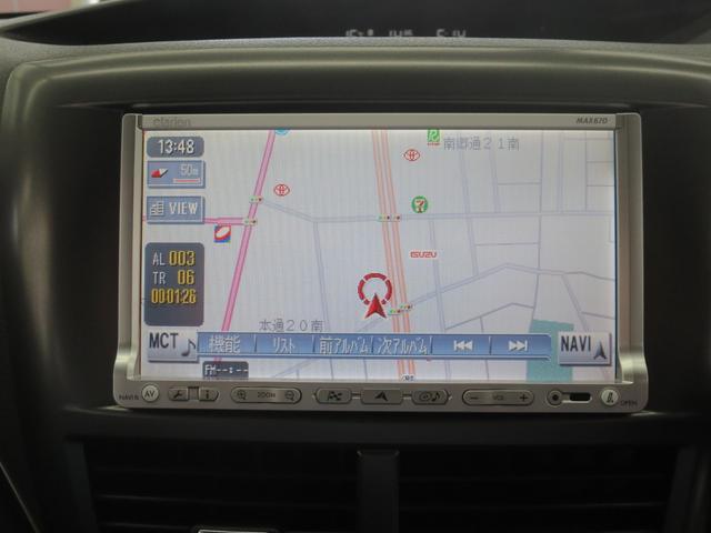 スバル インプレッサ S-GT 4WD HID 純正ナビ バックカメラ Pガラス