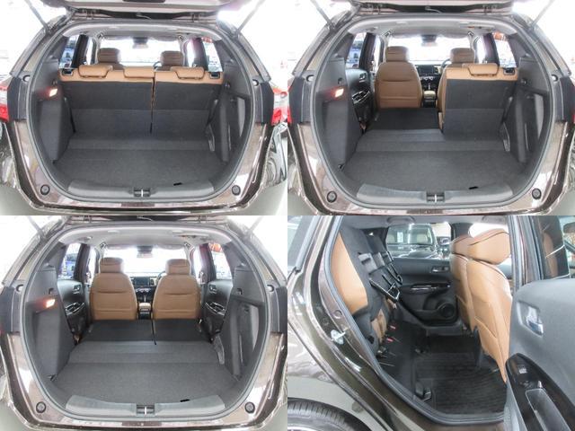 e:HEVリュクス 4WD ホンダセンシング ホンダコネクト フルLEDヘッドライト シートヒーター ステアリングヒーター アームレスト付センターコンソールボックス Qi規格ワイヤレス充電器 本革ブラウン内装(8枚目)