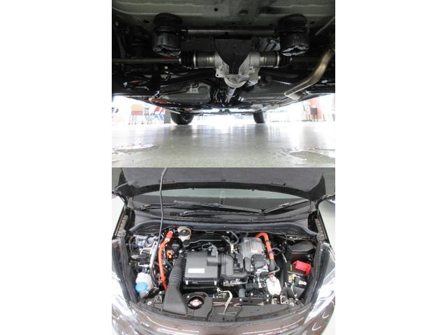 e:HEVリュクス 4WD ホンダセンシング ホンダコネクト フルLEDヘッドライト シートヒーター ステアリングヒーター アームレスト付センターコンソールボックス Qi規格ワイヤレス充電器 本革ブラウン内装(13枚目)