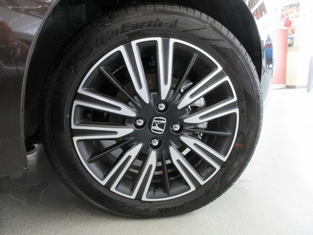 e:HEVリュクス 4WD ホンダセンシング ホンダコネクト フルLEDヘッドライト シートヒーター ステアリングヒーター アームレスト付センターコンソールボックス Qi規格ワイヤレス充電器 本革ブラウン内装(73枚目)