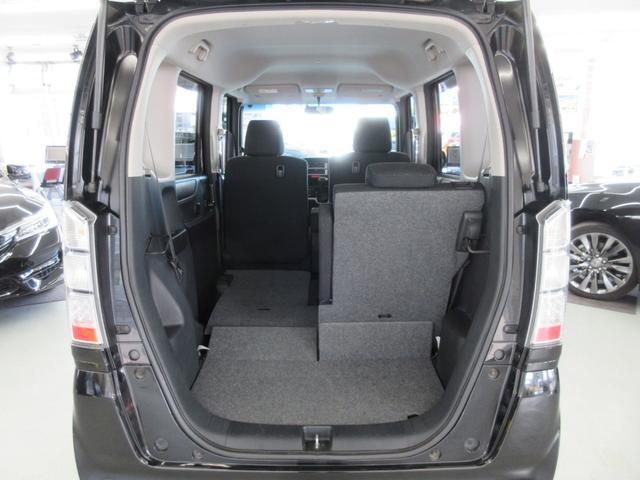 GターボLパッケージ 4WD ターボ 両側電動スライドドア 純正エンジンスターター ETC車載器 アイドリングストップ プラズマクラスター搭載オートエアコン 本革ステアリング クルーズコントロール パドルシフトMTモード(46枚目)