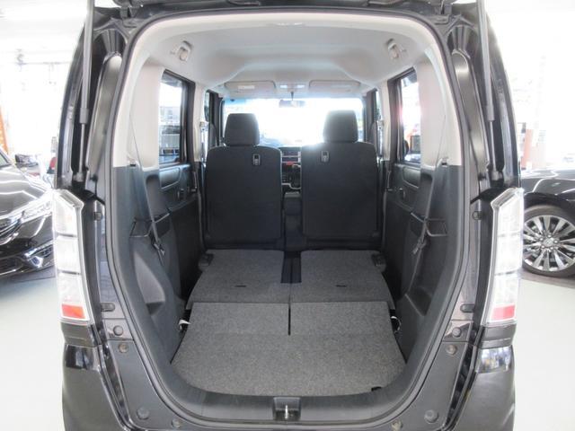 GターボLパッケージ 4WD ターボ 両側電動スライドドア 純正エンジンスターター ETC車載器 アイドリングストップ プラズマクラスター搭載オートエアコン 本革ステアリング クルーズコントロール パドルシフトMTモード(47枚目)