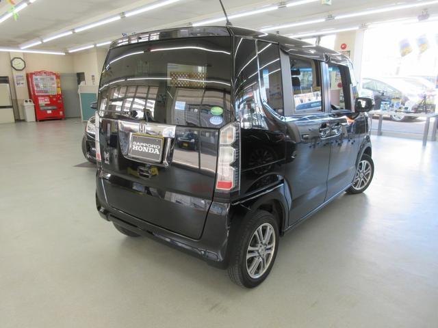 GターボLパッケージ 4WD ターボ 両側電動スライドドア 純正エンジンスターター ETC車載器 アイドリングストップ プラズマクラスター搭載オートエアコン 本革ステアリング クルーズコントロール パドルシフトMTモード(56枚目)
