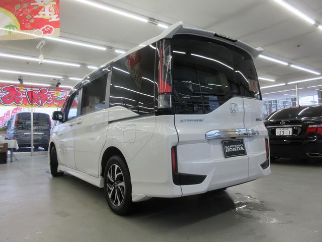 スパーダ ホンダセンシング 4WD 衝突軽減ブレーキ レーンキープ LEDヘットライト ETC 両側電動スライドドア(57枚目)