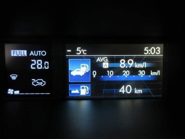 1.6GTアイサイト 衝突軽減ブレーキ 横滑り防止 純正Mナビ バックカメラ ETC スマートキー LEDライト クルーズコントロール オートライト ヘッドライトウォッシャー ドラレコ アイドリングストップ(19枚目)