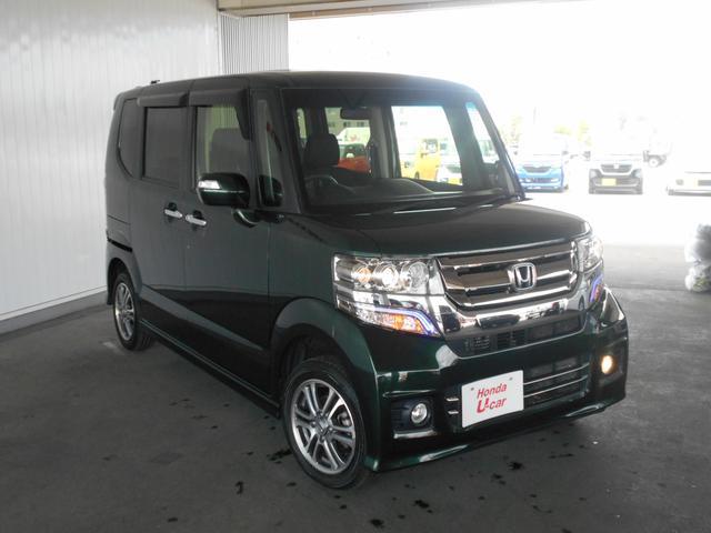 「ホンダ」「N-BOXカスタム」「コンパクトカー」「北海道」の中古車10