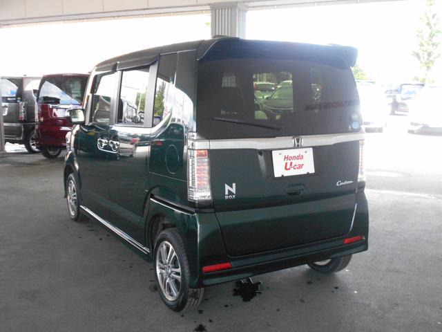 「ホンダ」「N-BOXカスタム」「コンパクトカー」「北海道」の中古車13