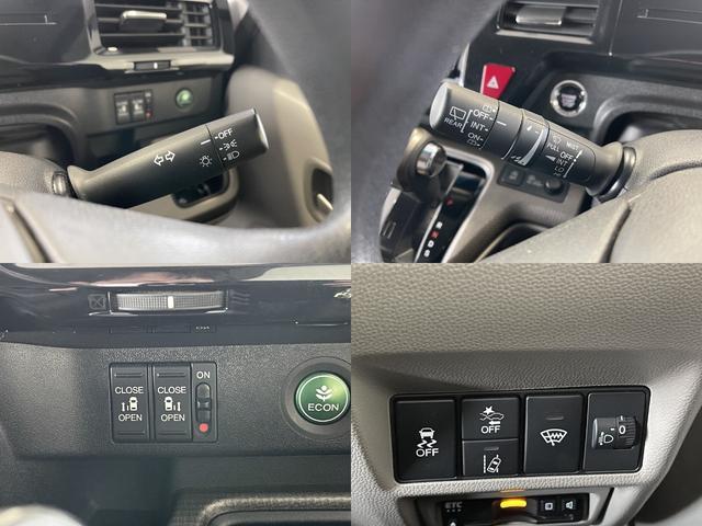 G ホンダセンシング 4WD 社外ナビ 両側電動スライド バックカメラ ETC スマートキー VSA レーンキープ 追突軽減ブレーキ 踏み間違え防止 HONDA 運輸局指定工場店 整備保証付(6枚目)