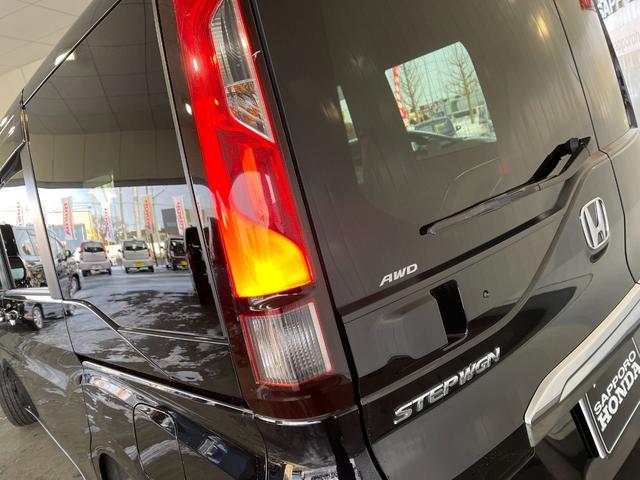 G ホンダセンシング 4WD 社外ナビ 両側電動スライド バックカメラ ETC スマートキー VSA レーンキープ 追突軽減ブレーキ 踏み間違え防止 HONDA 運輸局指定工場店 整備保証付(37枚目)