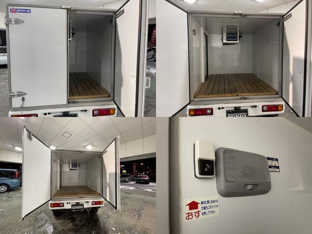 冷凍車 4WD マニュアル車 R型左側スライド扉(9枚目)