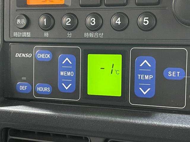 冷凍車 4WD マニュアル車 R型左側スライド扉(16枚目)
