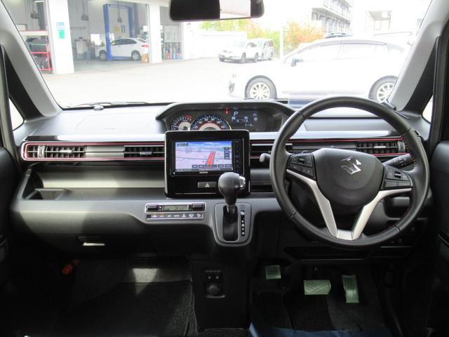 ハイブリッドT 4WD 衝突軽減ブレーキ エンジンスターター メモリーナビ ワンセグチューナー DVD ブルートゥースオーディオ シートヒーター LEDヘッドライト 15インチアルミ(20枚目)