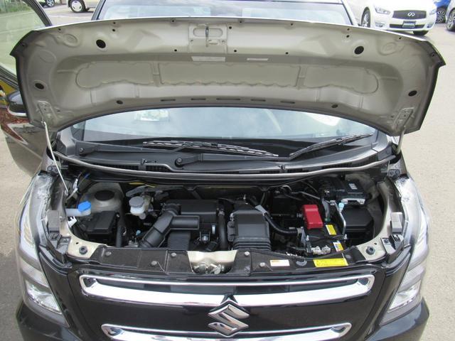 ハイブリッドT 4WD 衝突軽減ブレーキ エンジンスターター メモリーナビ ワンセグチューナー DVD ブルートゥースオーディオ シートヒーター LEDヘッドライト 15インチアルミ(73枚目)