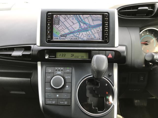 トヨタ ウィッシュ 1.8S 4WD 純正ナビ フリップダウンモニター