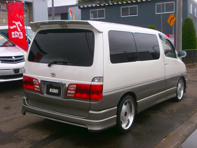 「トヨタ」「グランドハイエース」「ミニバン・ワンボックス」「北海道」の中古車5
