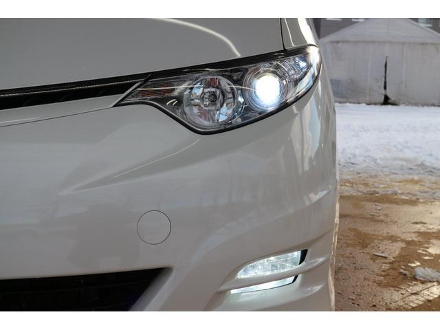 トヨタ エスティマ アエラス 4WD パワスラ フリップダウンモニター 純正ナビ