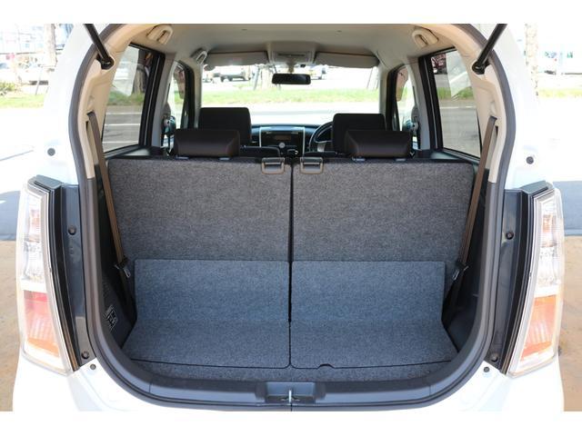軽自動車ながら十分な容量のラゲッジスペース☆通勤通学やお買い物など、普段のご利用にピッタリですよ♪