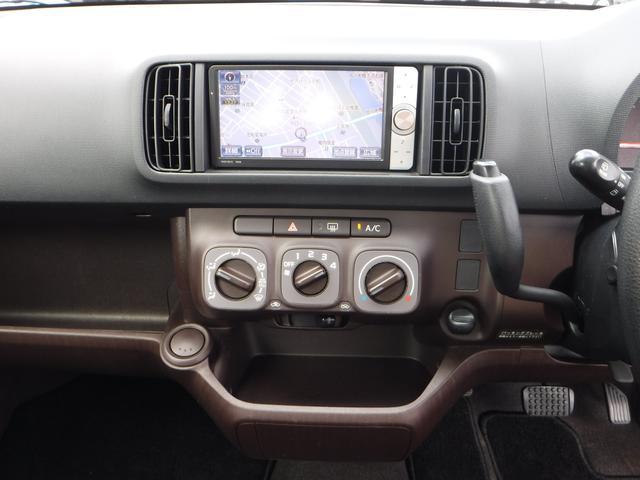 トヨタ パッソ X クツロギ HDDナビ リモコンスターター付 4WD
