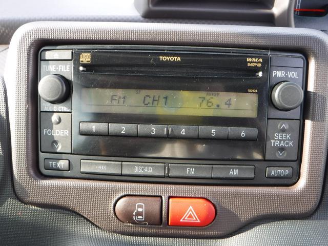 トヨタ スペイド F CDチューナー付 リモコンスターター付 FF