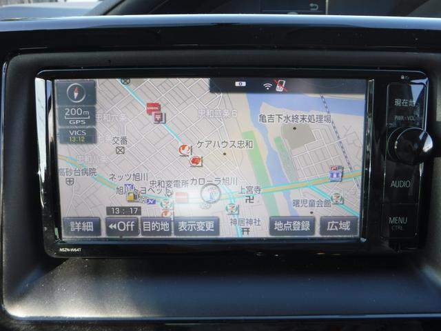 トヨタ ノア X メモリナビ バックモニター 両側電動スライドドア 4WD