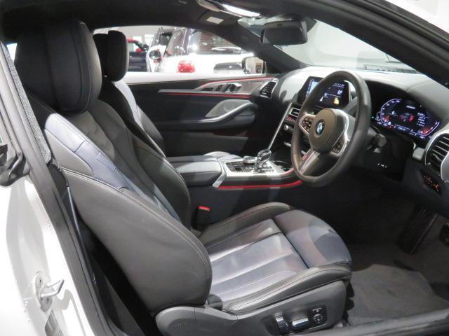 M850i xDriveクーペ 当社デモカー V8 4400ccエンジン ナイトビジョン B&Wサウンド 純正20インチアロイホイール レーザーライト xDrive(23枚目)