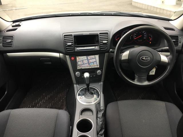 スバル レガシィツーリングワゴン 2.0i Bスポーツ 4WD HDDナビ AW16インチ