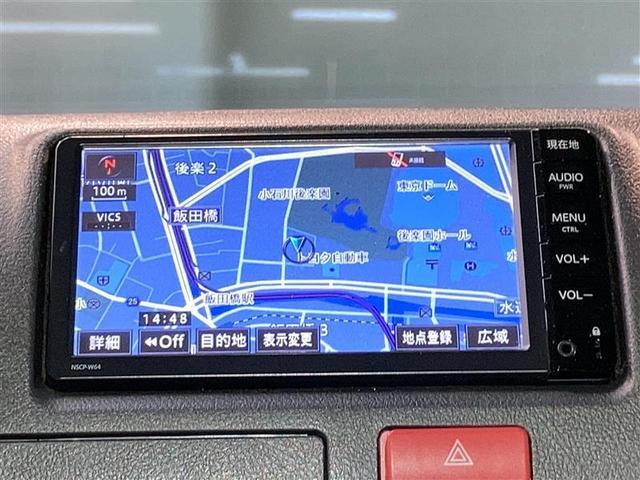ロングDX 4WD ワンセグ メモリーナビ ミュージックプレイヤー接続可 ETC 乗車定員6人 ディーゼル(3枚目)