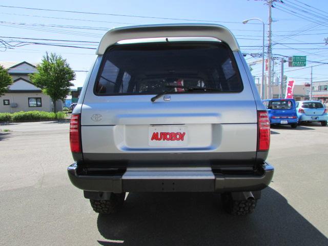 トヨタ ランドクルーザー80 VXリミテッド リフトアップ 17AW ベンツテール