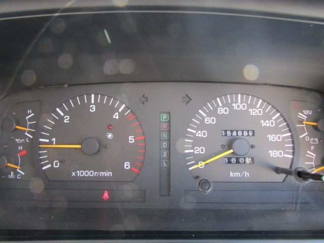 走行距離もまだまだこれからの155,000kmです☆