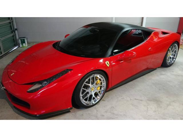 「フェラーリ」「フェラーリ 458イタリア」「クーペ」「北海道」の中古車3