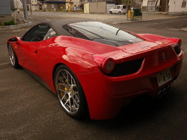 「フェラーリ」「フェラーリ 458イタリア」「クーペ」「北海道」の中古車6
