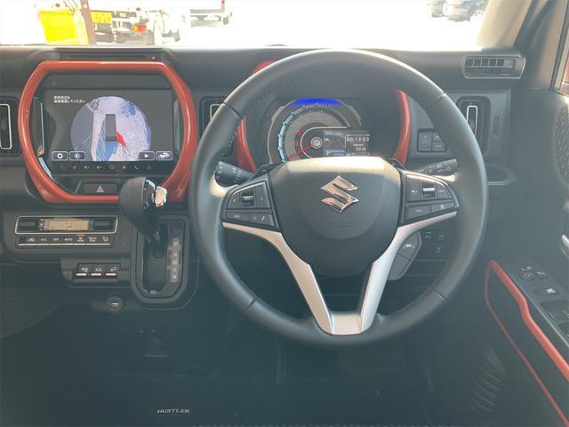 ハイブリッドXターボ 4WD 全方位モニターナビ デュアルカメラブレーキサポート 全周囲カメラ 2トーンカラー コーナーセンサー LEDヘッドライト&フォグランプ レーダークルーズ 車線逸脱警報 スマートキー(19枚目)