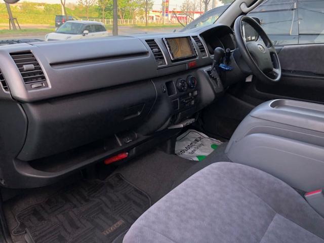 トヨタ ハイエースバン スーパーGL 2.5DT 4WD Rエアコン Rヒーター