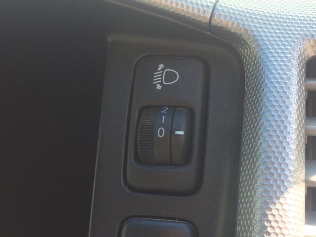 オートレベライザー付いてます!ヘッドライトの角度を調節できます!!