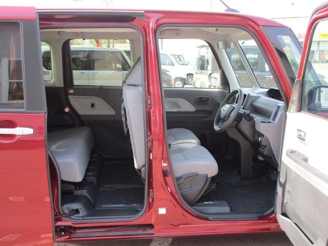 Xセレクション 4WD スマートアシスト 両側スライドドア片側電動 プッシュスタート デジタルメーター オートエアコン LEDヘッドライト オートライト 前後コーナーセンサー 運転席・助手席シートヒーター 後席テーブル(36枚目)