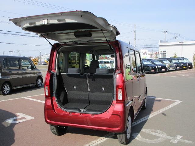 Xセレクション 4WD スマートアシスト 両側スライドドア片側電動 プッシュスタート デジタルメーター オートエアコン LEDヘッドライト オートライト 前後コーナーセンサー 運転席・助手席シートヒーター 後席テーブル(39枚目)
