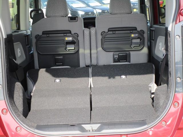 Xセレクション 4WD スマートアシスト 両側スライドドア片側電動 プッシュスタート デジタルメーター オートエアコン LEDヘッドライト オートライト 前後コーナーセンサー 運転席・助手席シートヒーター 後席テーブル(42枚目)