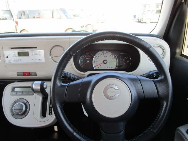ココアプラスXスペシャルコーデ 4WD アイドリングストップ キーフリー CDチューナー エンジンスターター(16枚目)